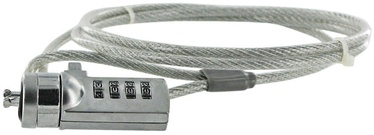 4World Notebook Security Cable With Cipher