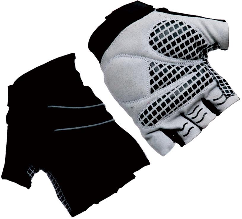 Велосипедные перчатки Ferts FSGLV-030 7223014, черный/серый, L