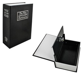 Book-Safe 18x11.5cm Black