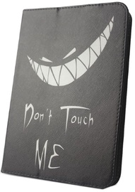 "GreenGo Universal Tablet Book Case For 7-8"" Don't Touch Me"