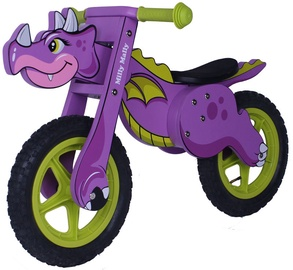 Balansinis dviratis Milly Mally Dino Purple 1577
