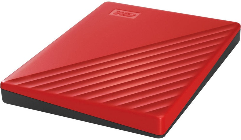 "Western Digital 2TB My Passport USB 3.2 2.5"" Red"
