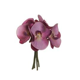 Puokštė dirbtinių orchidėjų 80-327895, 25 cm