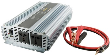 Whitenergy Receptacle Power Inverter 24V DC To 230V AC 1500W