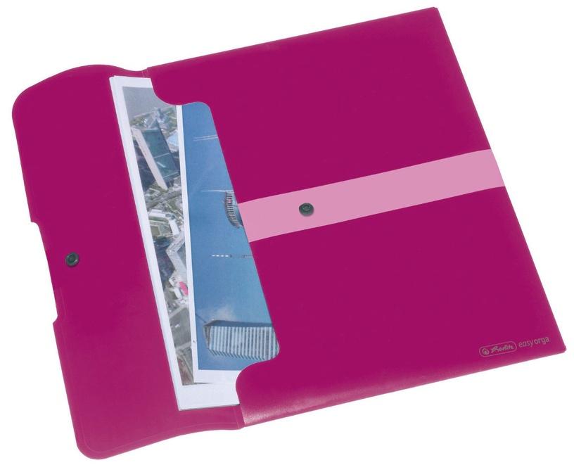 Herlitz Document Folder Easy Orga A4 11217122 Opaque Berry