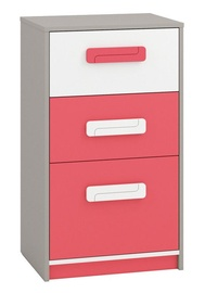 ML Meble Chest Of Drawers IQ 17 Pink