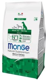 Сухой корм для собак Monge Daily Line Maxi Adult Rich in Chicken 3kg