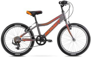 """Vaikiškas dviratis Romet Rambler Kids 1, raudonas/pilkas, 20"""""""