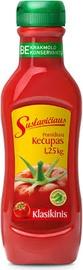 Kečupas pomidorų Suslavičiaus, klasikinis, 1.25 Kg