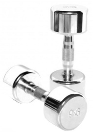 TKO Chrome Plated Beauty Bells Silver 2x9kg