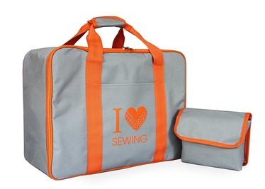 Toyota Sewing Machine Bag Grey/Orange