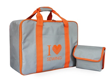 Toyota Sewing Machine Bag Grey/Orange