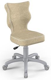 Детский стул Entelo Petit Size 4 VS26, серый/кремовый, 350 мм x 830 мм