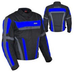 Aktivcentrs Nazran Sport Line BlkGreyBlue Jacket 786-9019-C L