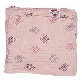 Lodger Dreamer Xandu Muslin Baby Blanket 120x120cm Sensitive Knot