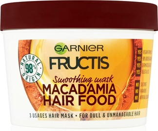 Garnier Fructis Nourishing Hair Mask Macadamia Hair Food 390ml
