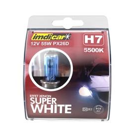 AUTO SPULDZES H7 WHITE 2 GAB.
