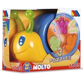 Molto Pulling Toy Magic Snail 6005