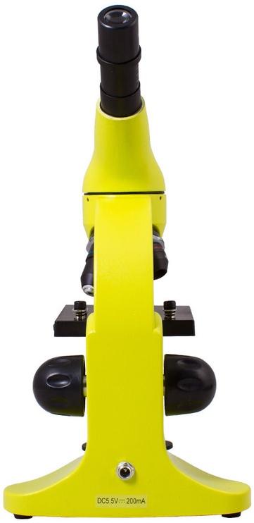 Levenhuk Rainbow 50L Lime Microscope