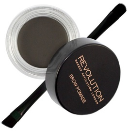 Makeup Revolution London Brow Pomade With Double Ended Brush 2.5g Graphite