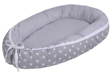 Lulando Multifunctional Baby Nest Grey With White Stars/Grey