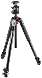 Alus Manfrotto Aluminium 3-Section Tripod With XPRO Ball Head