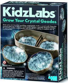 4M KidzLabs Geode Crystal Growing 03919
