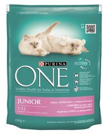 Kaķu barība One Junior 200g