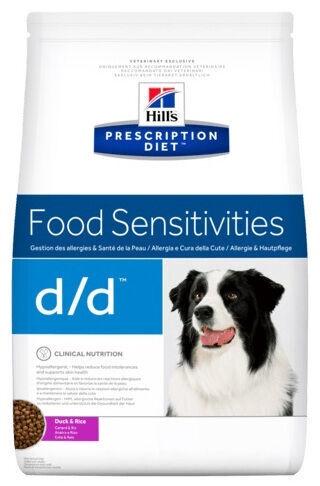 Hill's Prescription Diet Food Sensitivities d/d Duck & Rice 12kg