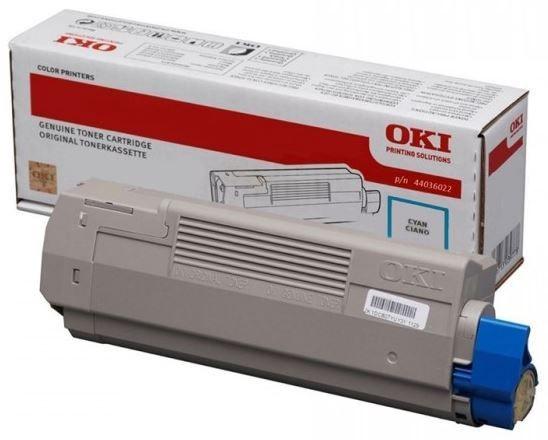 Lazerinio spausdintuvo kasetė Oki 44036023 Toner Cartridge Cyan