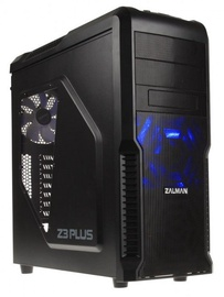 Zalman Case Z3 Plus Black+ZM600-TX Power Supply