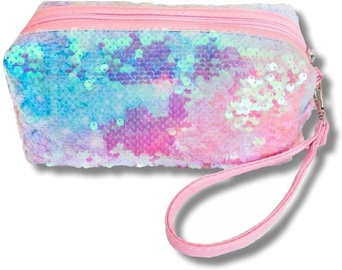 Stnux Washbag Sequins Light Pink