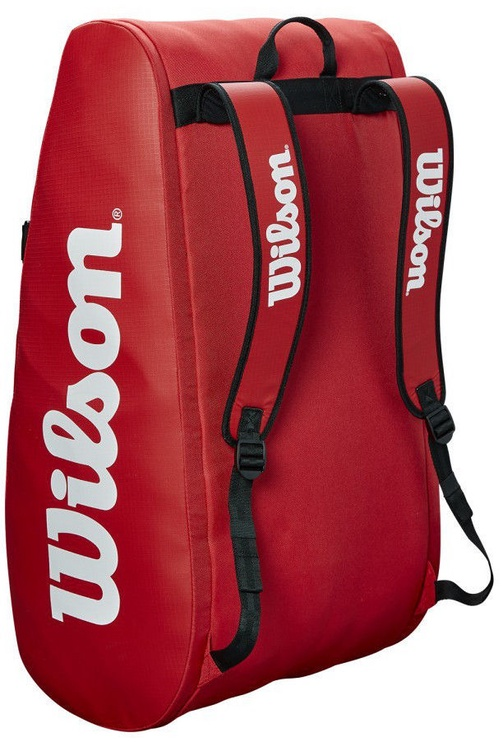 Wilson Tour 3 Compartment Bag Red