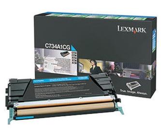 Lexmark X748H1CG Toner Cartridge Cyan