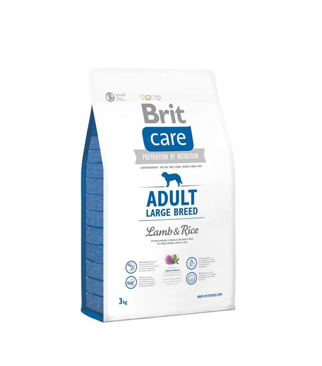 Kuivtoit koertele Brit Care Adult Large Breed Lamb & Rice, 3 kg