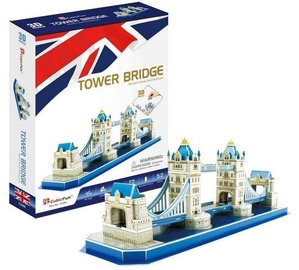 3D mīkla Cubicfun Tower Bridge 3D, 52 gab.