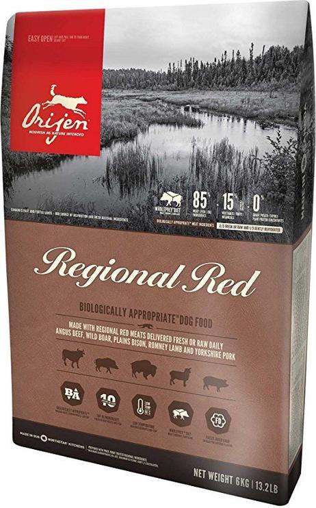 Сухой корм для собак Orijen Regional Red Dog Food 6kg