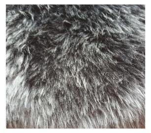 Aitādas paklājs Futura,90x60cm, melna
