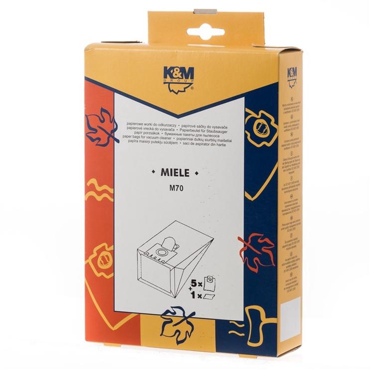 FILTRS PUTEKĻS. M70 MIELE S400-456 5+1 (K&M)