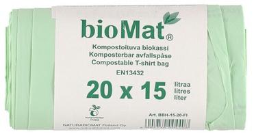 Atkritumu maisi BioMat Garbage Bags 15l 25pcs