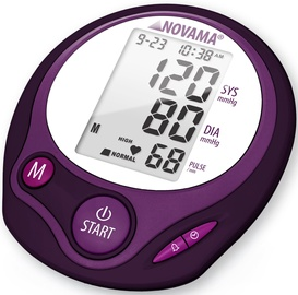 Novama Upper Arm Blood Pressure Monitor Home Woman