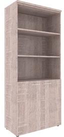 Skyland XTEN Office Cabinet XHC 85.5 Sonoma Oak