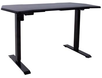 Spēļu galds Home4you Gamer K186861, melna