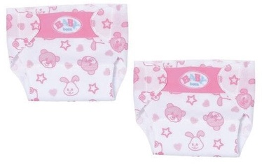 Zapf Creation Baby Born Little Nappies 2 Pack 36cm 828908