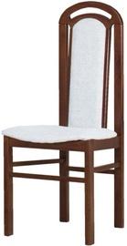 Bodzio KK Chair with Brown Legs Gray S6