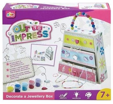 4M Decorate A JewelLery Box
