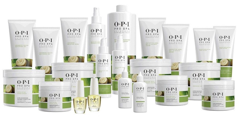 Rankų šveitiklis OPI Pro Spa Skincare Hands & Feet Micro-Exfoliating, 758 ml