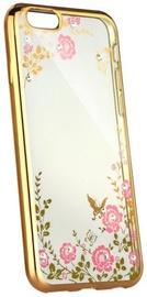 Blun Diamond Back Case For Huawei P20 Transparent/Gold