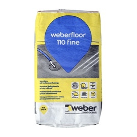 Põrandasegu Weber 110 isetasanduv 4-50mm 20kg