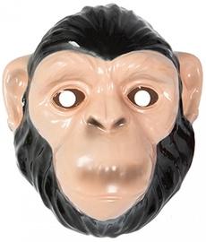 Maska Monkey, brūna, 220 mm